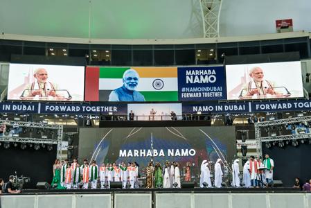 Narendra Modi in Dubai